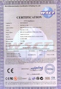 Certyfikat CE-RTTEs